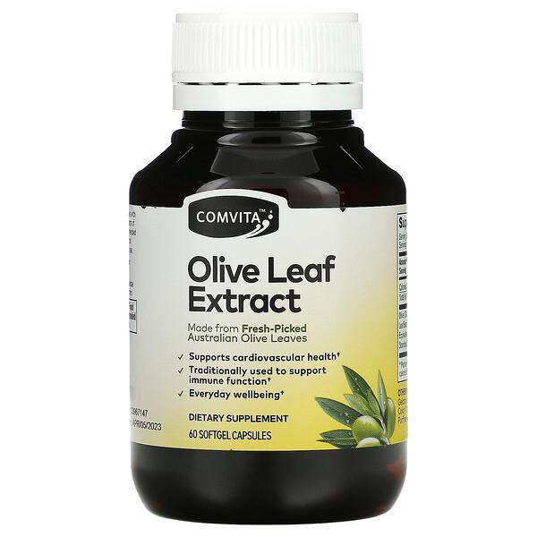 Comvita, Olive Leaf Extract, 60 Softgel Capsules