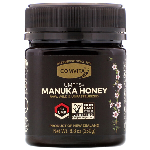 Manuka Honey, UMF 5+, 8.8 oz (250 g)