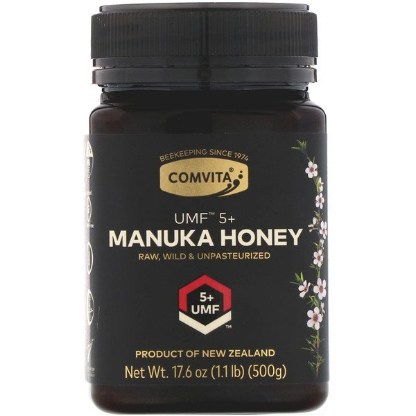 Comvita, Manuka Honey, UMF 5+, 1.1 lb (500 g)