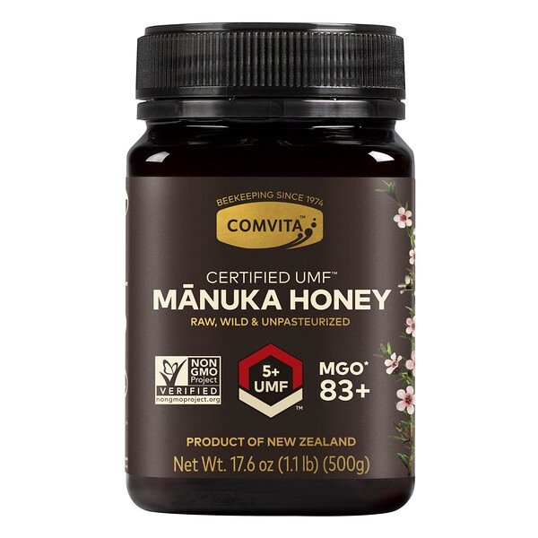 Manuka Honey, UMF 5+, 1.1 lb (500 g)