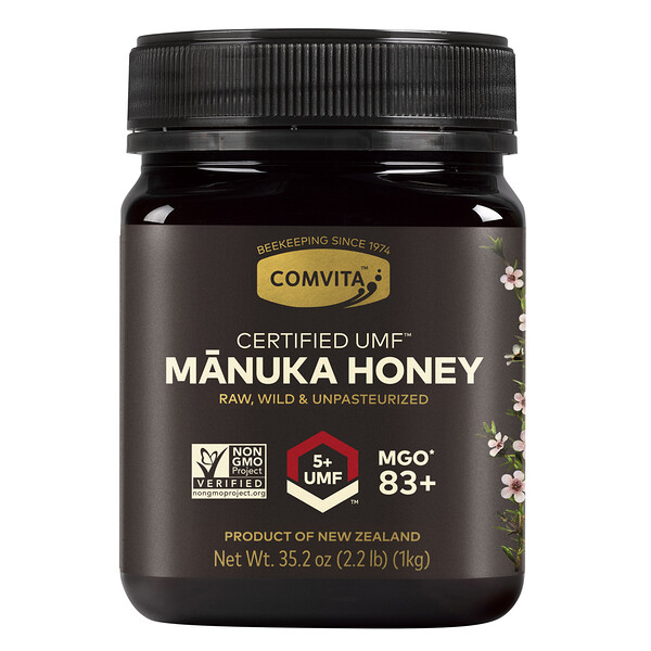 Manuka Honey, UMF 5+, 2.2 lb (1 kg)