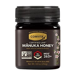 Comvita, 未加工麥盧卡蜂蜜,認可 UMF 10 + (MGO 263+),8.8 盎司(250 克)