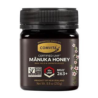 Comvita, Certified UMF10+ (MGO263+), необработанный мед манука, 250г (8,8унции)