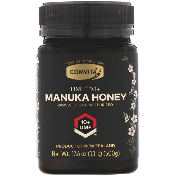 Comvita, Manuka Honey, UMF 10+, 17.6 oz (500 g) (Discontinued Item)