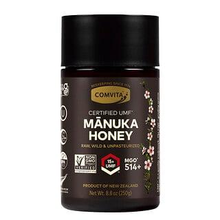 Comvita, Certified UMF15+ (MGO514+), необработанный мед манука, 250г (8,8унции)