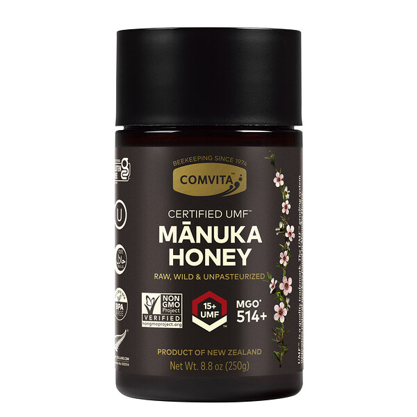 Manuka Honey, UMF 15+, 8.8 oz (250 g)