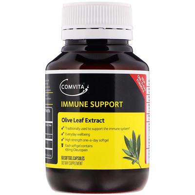 Купить Comvita Экстракт оливковых листьев, 60 мягких гелевых капсул