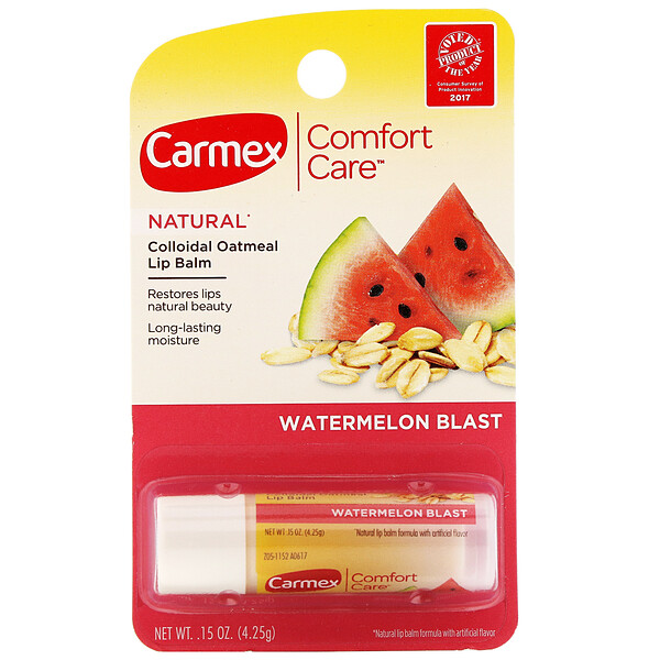 Comfort Care, Colloidal Oatmeal Lip Balm, Watermelon Blast, .15 oz (4.25 g)