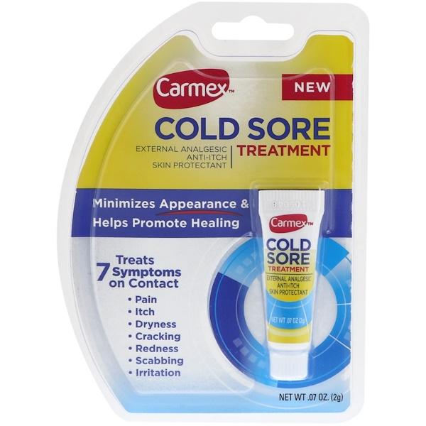 Carmex, Cold Sore Treatment,  07 oz (2 g) - iHerb com