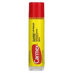 Carmex, 經典唇膏,醫級,SPF 15,0.15 盎司(4.25 克)