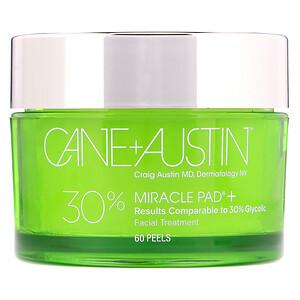 Cane + Austin, Miracle Pad, 30% Glycolic Acid, 60 Peels отзывы