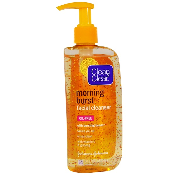 Clean & Clear, Morning Burst Facial Cleanser, 8 fl oz (240 ml) (Discontinued Item)
