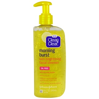 Clean & Clear, Morning Burst, Skin Brightening Facial Cleanser, 8 fl oz (240 ml)