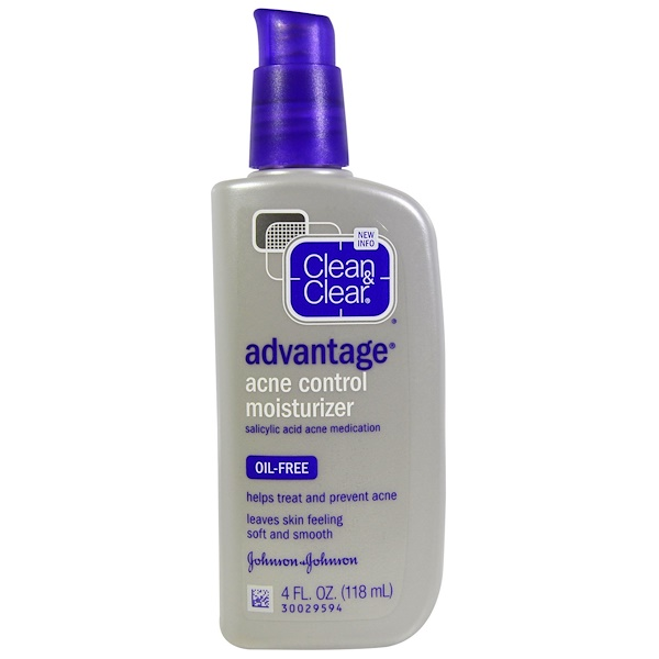 Clean & Clear, Advantage, Acne Control Moisturizer, 4 fl oz (118 ml)