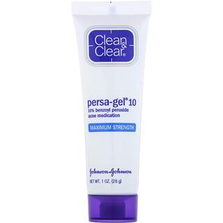 Clean & Clear, Persa-Gel 10, Potência Máxima, 1 oz (28 g)