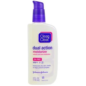 Клин энд Клир, Dual Action Moisturizer, Salicylic Acid Acne Medication, 4 fl oz (118 ml) отзывы покупателей
