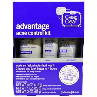 Clean & Clear, Advantage Acne Control Kit, 3 Piece Kit