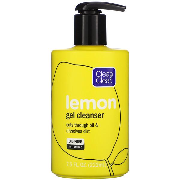 Lemon Gel Cleanser, 7.5 fl oz (222 ml)