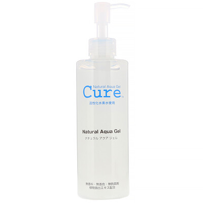 Купить Cure Natural Natural Aqua Gel, натуральный очищающий гель, 250мл (8, 82жидк.унции)