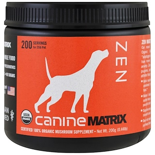 Canine Matrix, Истина, грибной порошок, 0.44 фунтов (200 г)