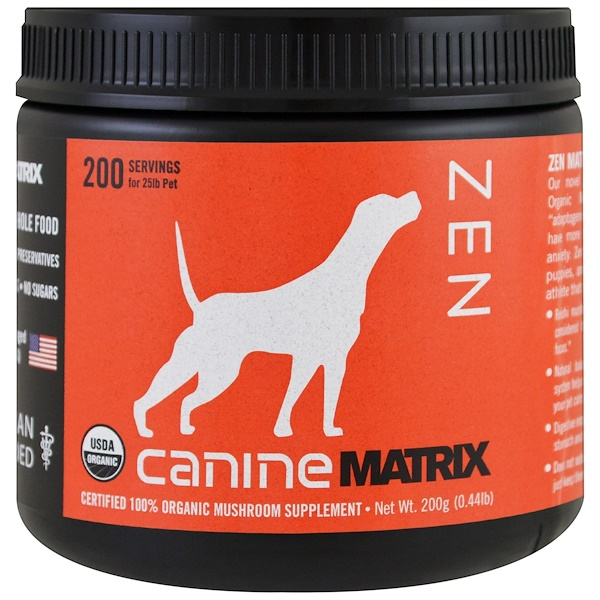 Canine Matrix, Zen, hongo en polvo, 0.44 lb (200 g) (Discontinued Item)