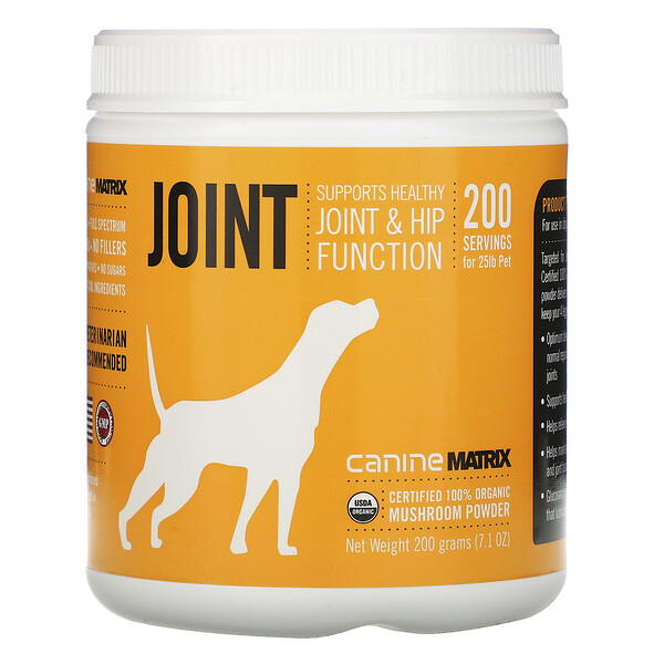 Canine Matrix, Joint, Organic Mushroom Powder, 7.1 oz (200 g)