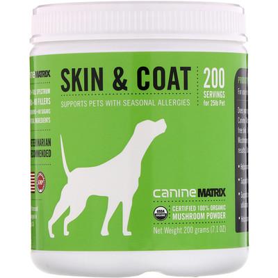 Skin & Coat, Mushroom Powder, 7.1 oz (200 g)