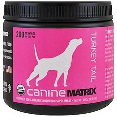 Canine Matrix, Turkey Tail, Mushroom Powder, 0.44 lb (200 g)