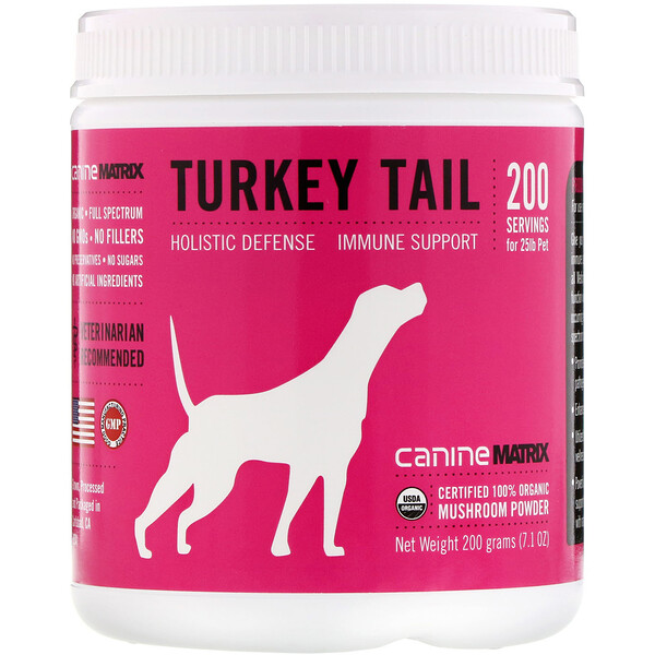 Turkey Tail, Mushroom Powder, 7.1 oz (200 g)