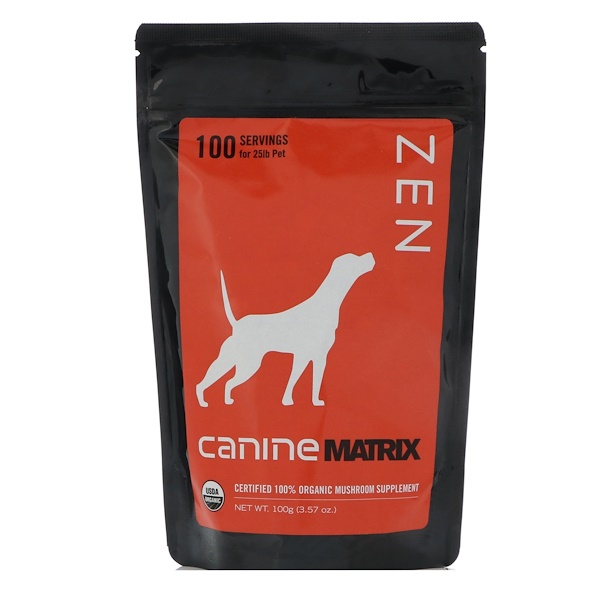 Canine Matrix, 젠, 반려견 용, 3.57 oz (100 g)