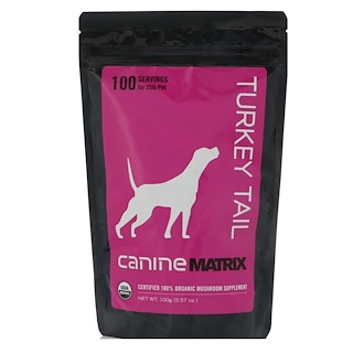 Canine Matrix, Turkey Tail, For Dogs, 3.57 oz (100 g)