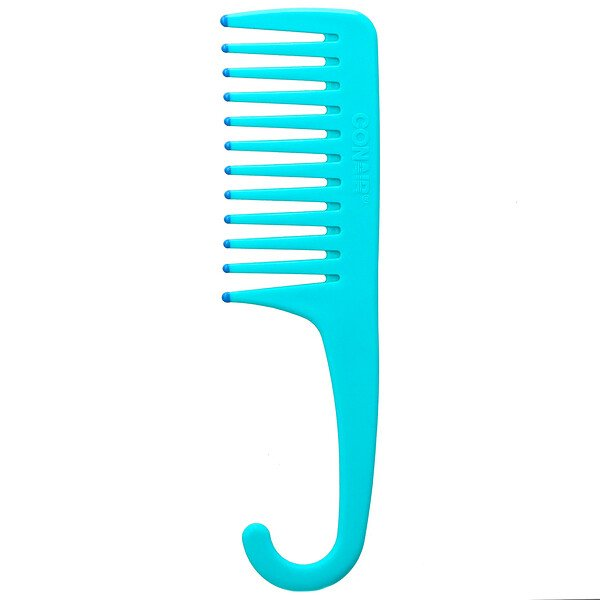 Detangle & Smooth Shower Comb, For Wet or Dry Hair, 1 Comb