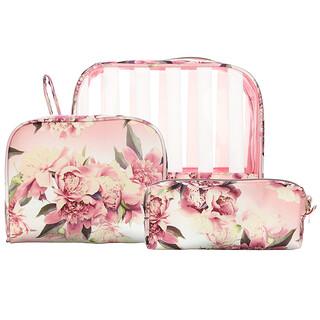 Conair, Sophia Joy, Wristlet Set, Floral, 3 Pieces