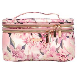 Conair, Sophia Joy, Double Zip Train Case, Floral, 1 Piece