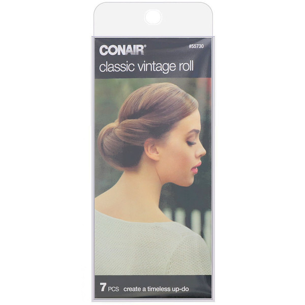 Conair, Classic Vintage Roll, 7 Pieces