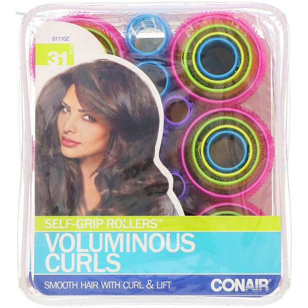 Self Grip Rollers, Voluminous Curls, 31 Pieces