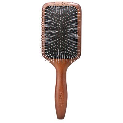 Купить Conair Tangle Pro Detangler, деревянная плоская расческа, для нормальных и густых волос, 1шт.