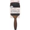Conair, Tangle Pro Detangler, Normal & Thick Hair, Wood Paddle Hair Brush, 1 Brush