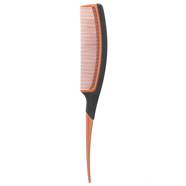Conair, Copper Collection, Lift and Section, Tail Comb, 1 Comb