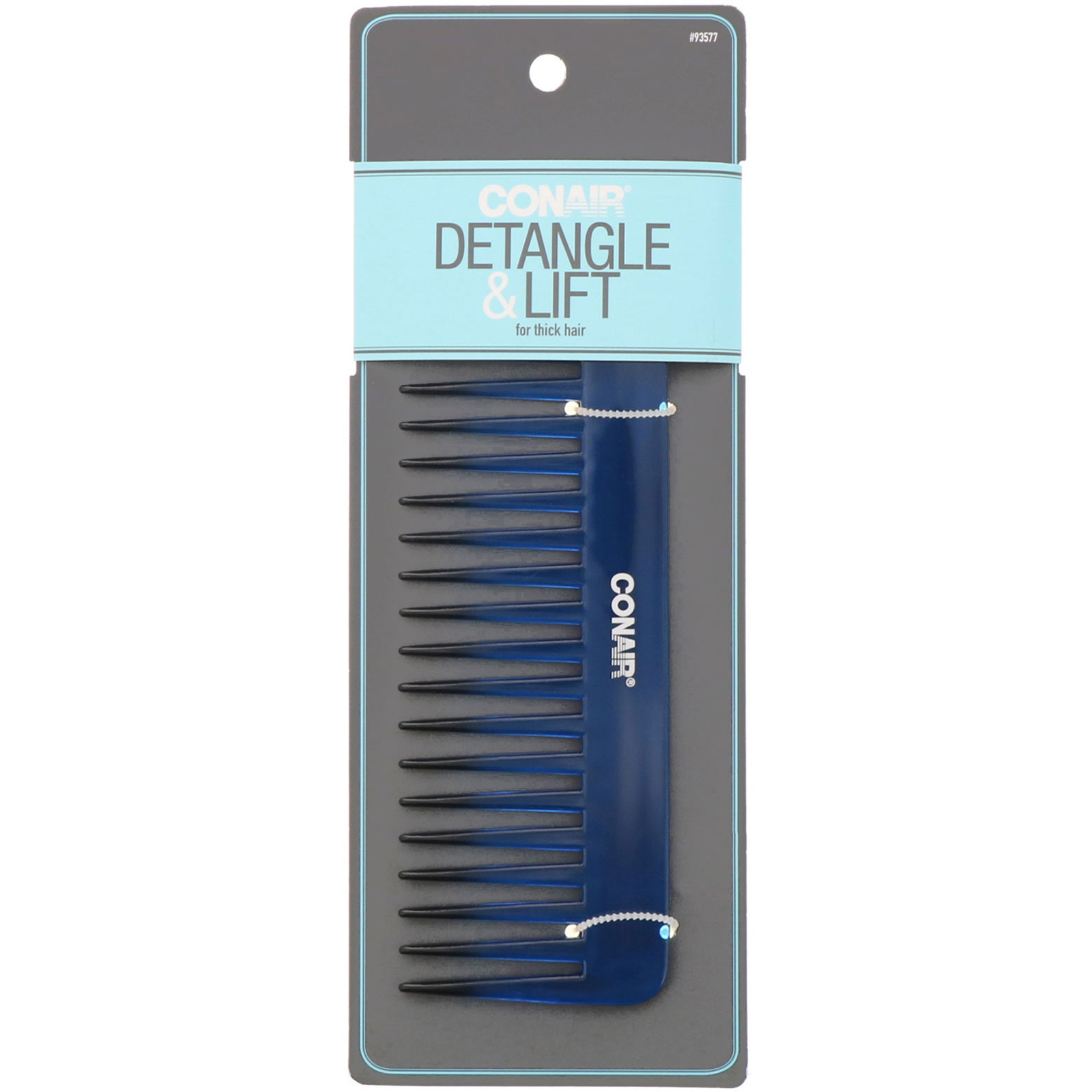 HYOUJIN601 Black Carbon Wide Tooth Comb Rake Beard Comb,Detangler Hair Comb-Coming long wet hair,Hair Straighten-best for all kinds of hair especially curly hair heat-Resistant DR