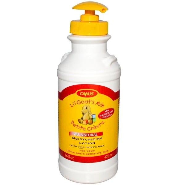 Canus, Li'l Goat's Milk, Moisturizing Lotion, 16 fl oz (476 ml) (Discontinued Item)