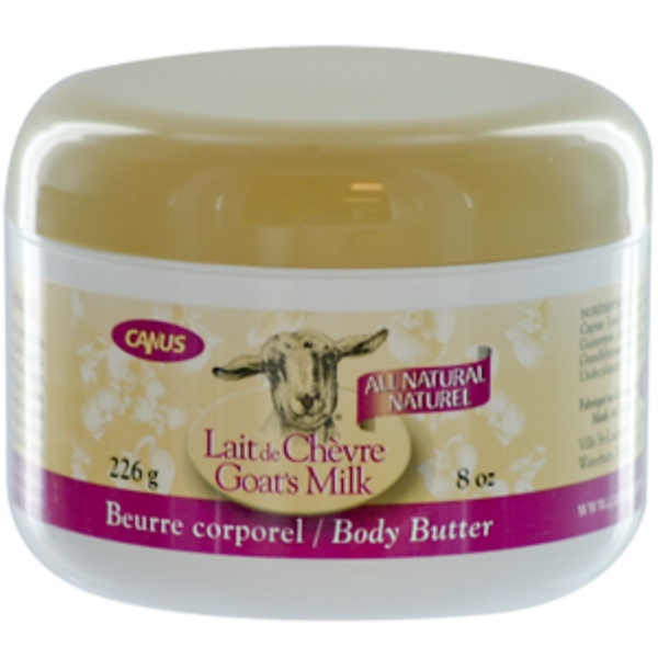 Canus, Goat's Milk Body Butter with Orchid Oil, 8 oz (226 g)  (Discontinued Item)