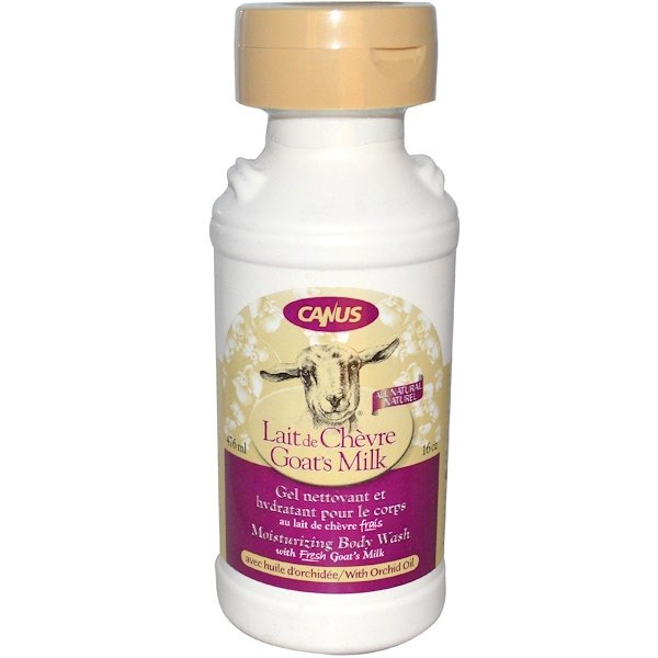 Canus, Goat's Milk, Moisturizing Body Wash, with Orchid Oil, 16 oz (476 ml) (Discontinued Item)