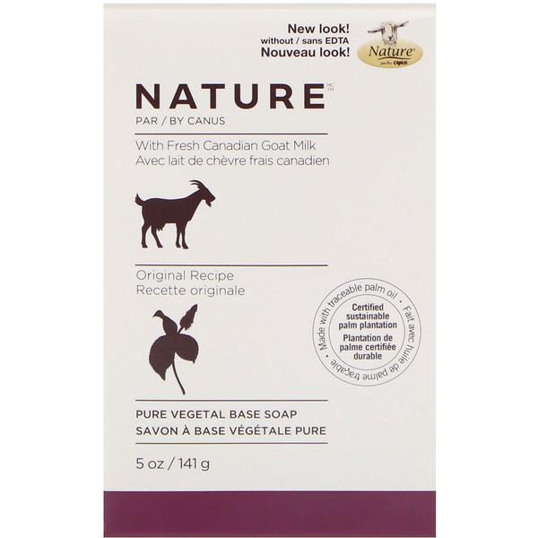 Canus, Pure Vegetable Base Soap with Fresh Canadian Goat Milk, Original Formula, 5 oz (141 g) (Discontinued Item)