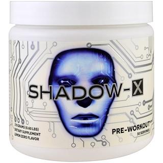 Cobra Labs, Shadow-X、プレワークアウト、レモンゼロ、0.60 lbs (270 g)