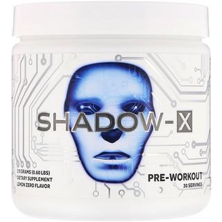 Cobra Labs, Shadow-X, Pre-Workout, Lemon Zero, 0.60 lbs (270 g)