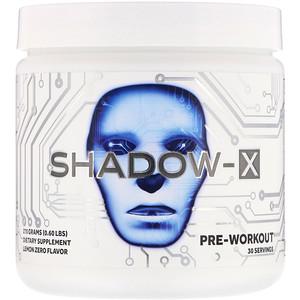 Кобра Лэбс, Shadow-X, Pre-Workout, Lemon Zero, 0.60 lbs (270 g) отзывы покупателей