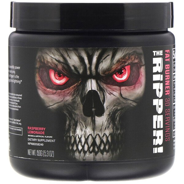 The Ripper, Fat Burner, Raspberry Lemonade, 5.3 oz (150 g)