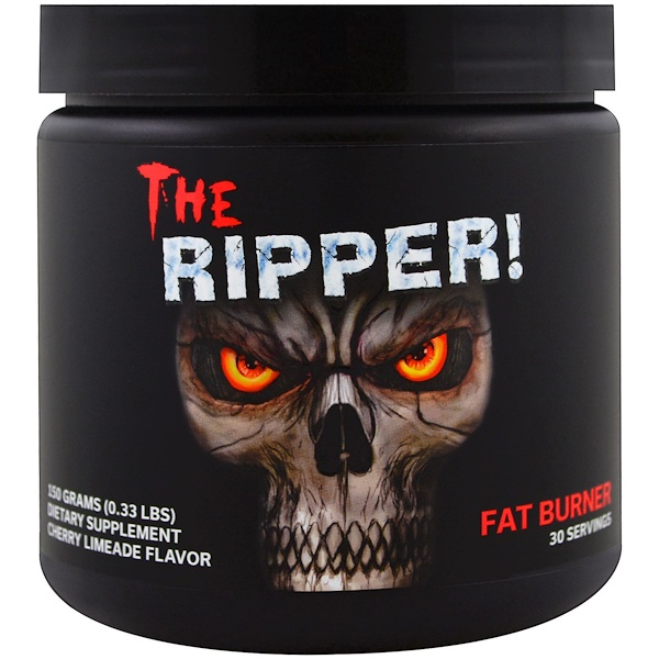 Cobra Labs, The Ripper, Fat Burner, Cherry Limeade Flavor, 0.33 lbs (150 g)