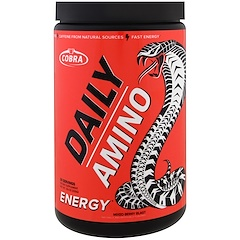 Cobra Labs, Daily Amino, Energy, Mixed Berry Blast , 9.0 oz (255 g)